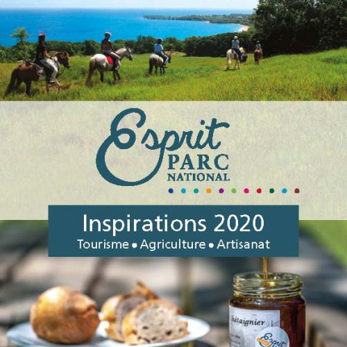 Couverture du guide Esprit parc national - Inspirations 2020