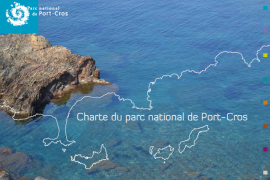 Couverture de la charte du Parc national de Port-Cros